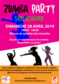 Zumba Party Solidaire