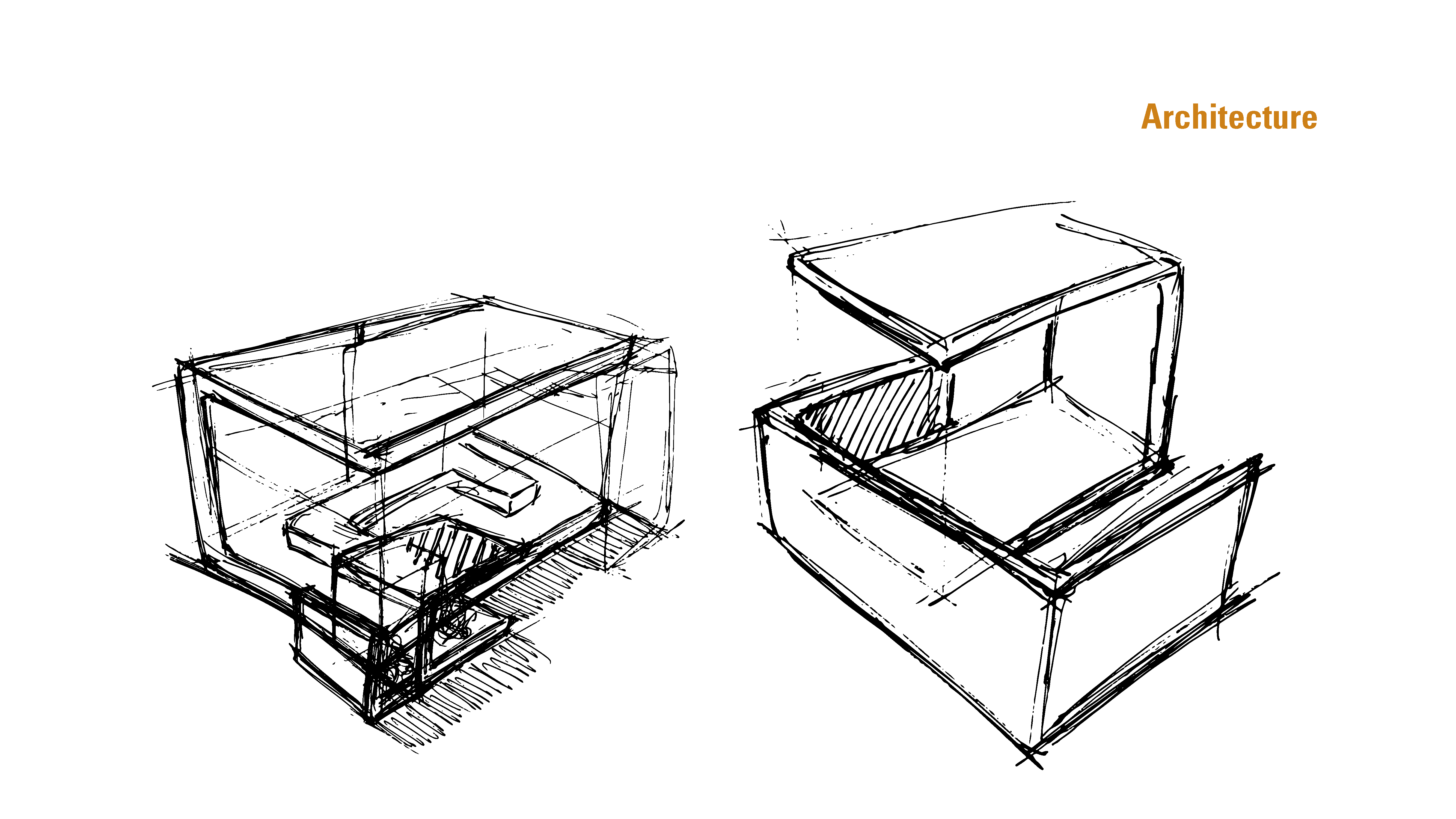 Fireplace Design - Sketch