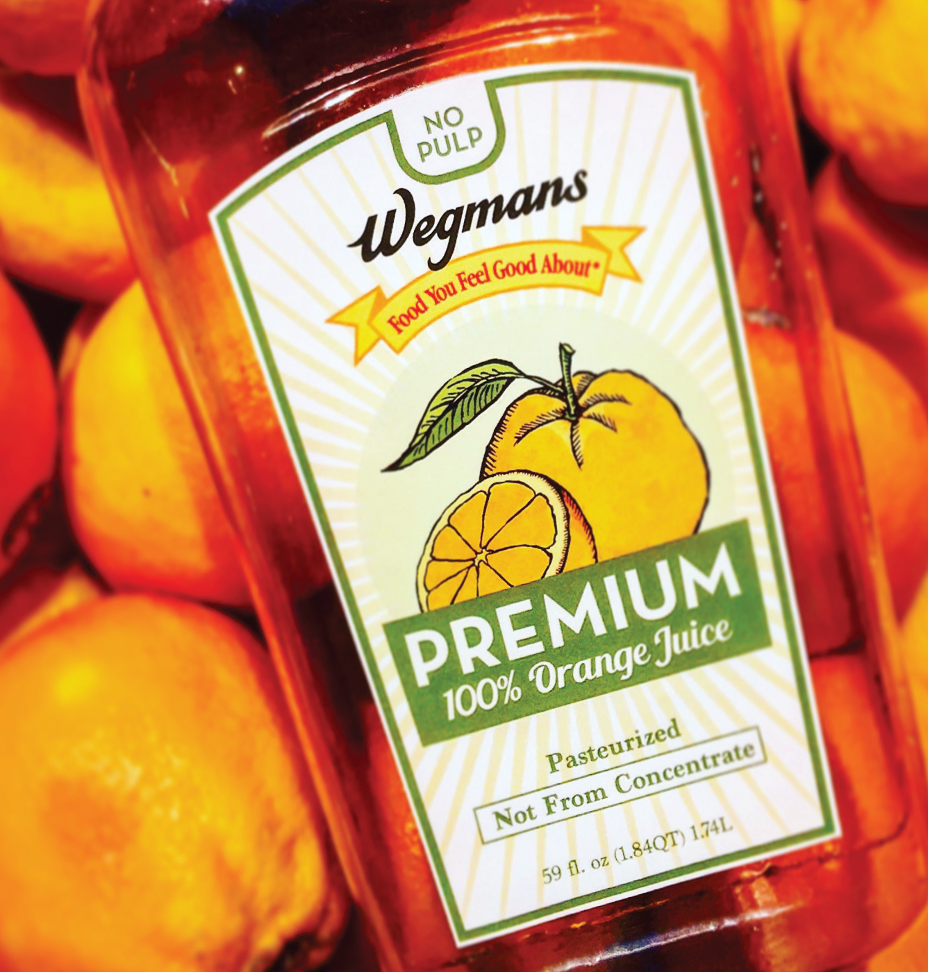 Wegman's Orange juice