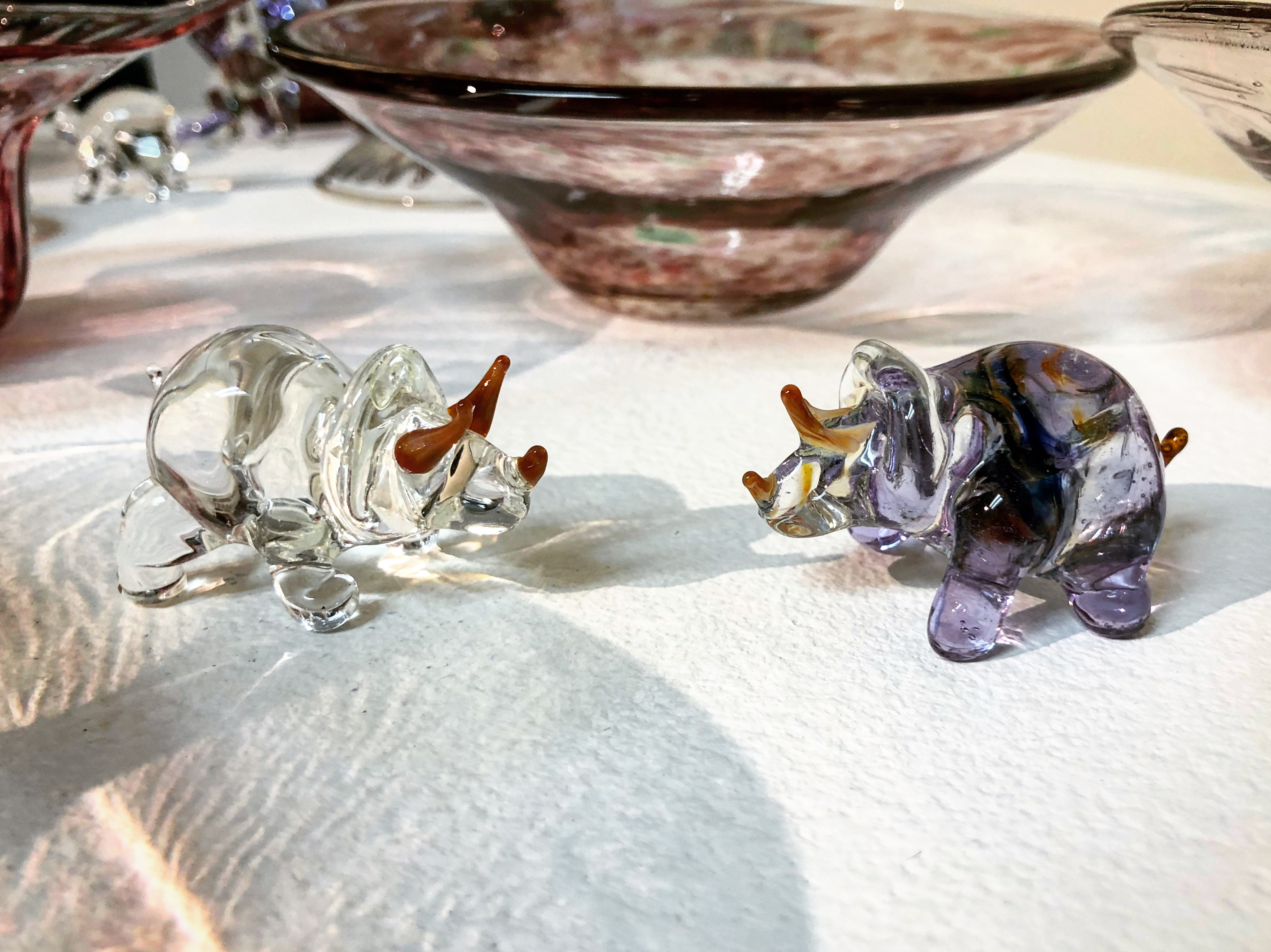 glass Triceratops 2