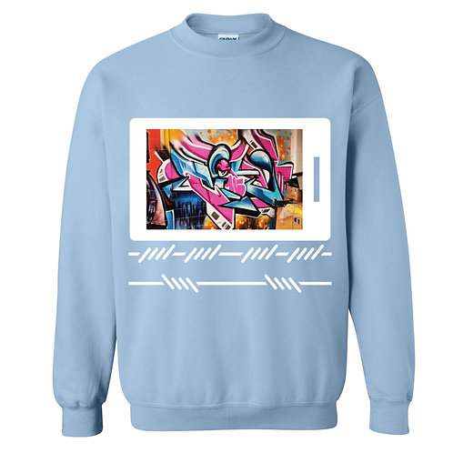 Graffiti Polaroid Sweater