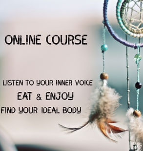 Online Course, eat and enjoy, lose weight, dreamcatcher