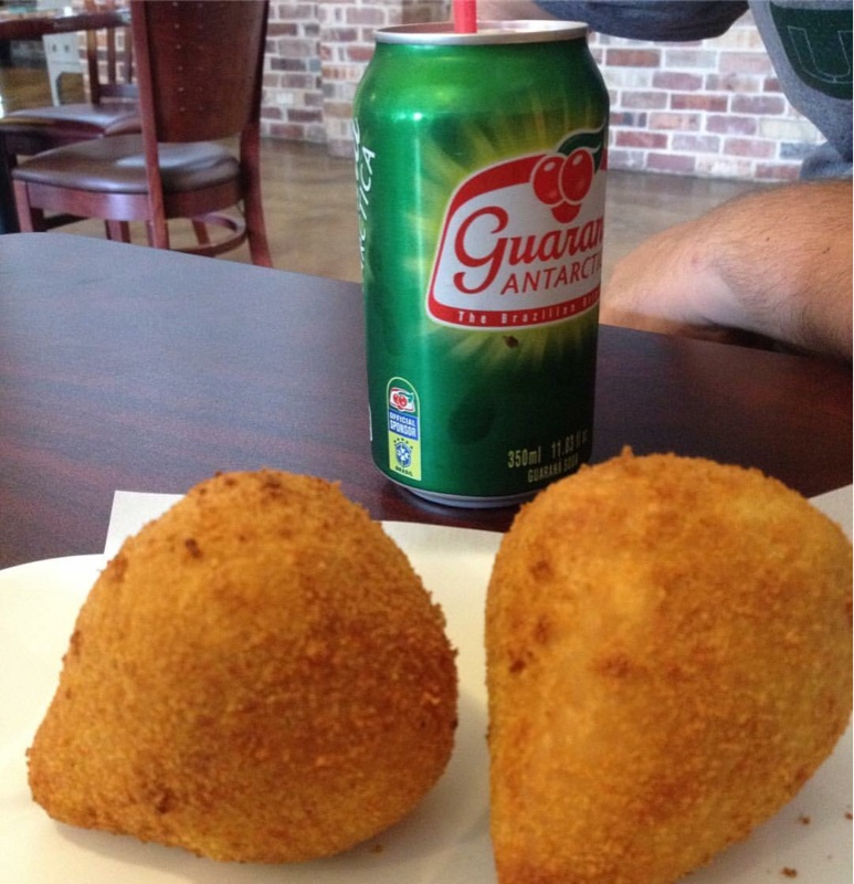 Coxinha and Guarana