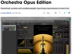 Music Tech Choice Award for EastWest Hollywood Orchestra Opus!