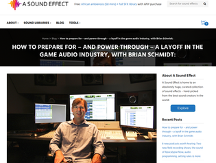 How to survive a layoff in the game audio industry