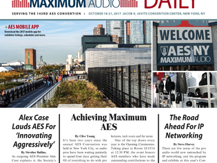Hal Leonard Coverage in AES Dailies
