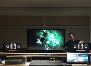 Galactic Playground Music Switch To EVE Audio Monitors