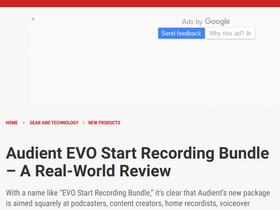A Real World Review of the EVO Start Recording Bundle