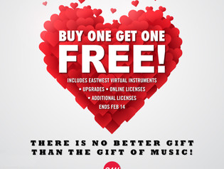 Valentine's Day Special from EastWest: Buy One Get One Free!