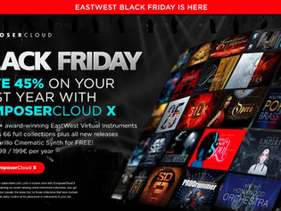 EastWest's Black Friday offer - better than ever!