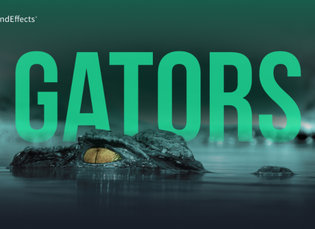 Snarls, Hisses, and Jaw Snaps: Pro Sound Effects Releases Gators