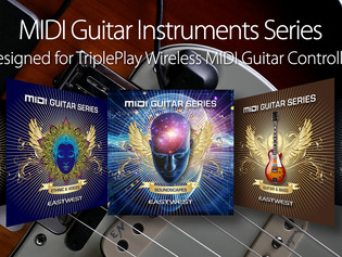 Now Available: EastWest MIDI Guitar Instruments