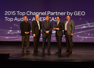 AVID Awards Westlake Pro Top Channel Partner for 2015