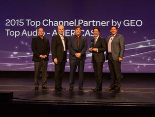 AVID Awards Westlake Pro Top Channel Partner for 2015