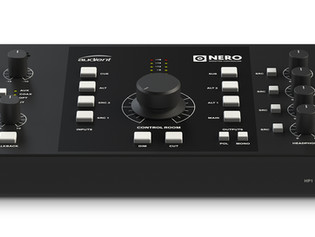 Audient Introduces Nero: Desktop Monitor Controller