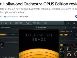 Musicradar.com: 4.5 Stars for Hollywood Orchestra Opus Edition!