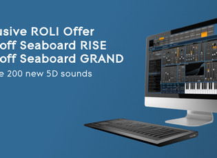 ROLI Seaboard now Bundled with FXPansion STROBE2