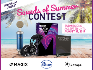 MAGIX Launches SOUNDS OF SUMMER Contest