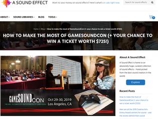 How to make the most of GameSoundCon