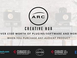 Audient Unveils ARC - The Creative Hub