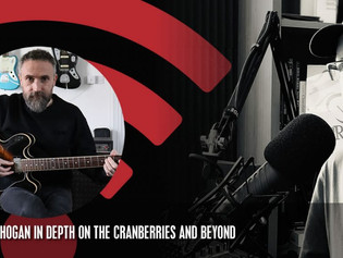 Guitar Business Radio talks to the Cranberries' Noel Hogan and finds out why he is such a UA fan