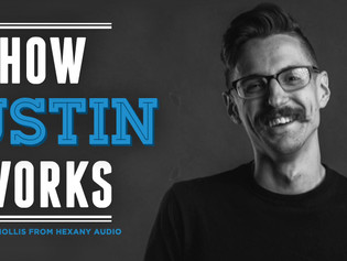 How I Work: Justin Hollis from Hexany Audio