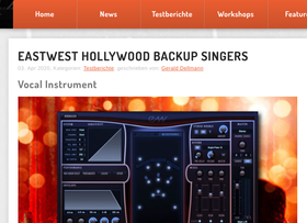 Megasynth finds EastWest Hollywood Backup Singers a great solution for home producers