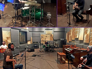 Morgan Mallory Records Crowd Funded Album at Hybrid Studios
