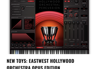 New sounds, faster & easier to navigate: Music Connection reviews Hollywood Orchestra Opus Edition