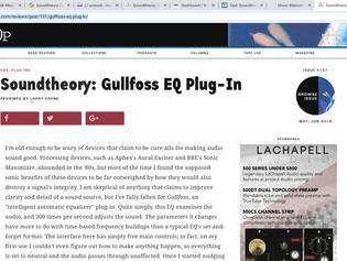 Tape Op Loves Gullfoss