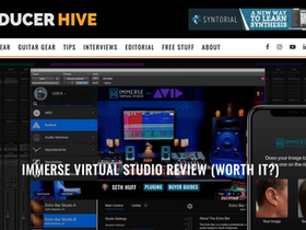 Producerhive Tests Embody's Immerse Virtual Studio