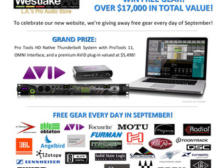 Win a Pro Tools Rig from Westlake Pro