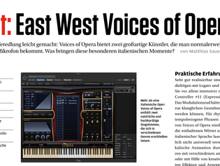 "Voices of Opera ""also exciting for electronic music"" - BEAT.de Review"