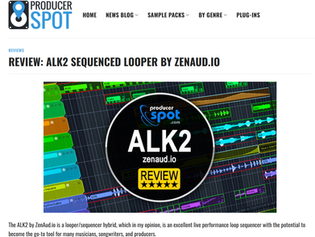 Great songwriting tool - ProducerSpot reviews ALK2