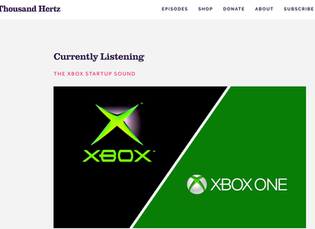 Interview with Brian Schmidt about the invention of the Xbox sound