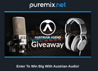 Puremix and Austrian Audio Giveaway