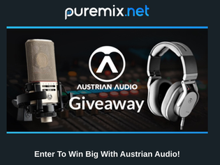 Puremix and Austrian Audio Giveaway