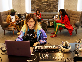 Ali Stone brings her Audient iD44 to camp with Mary J. Blige