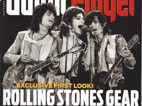 Rolling Stones Gear is Guitar Player's March Cover Story!