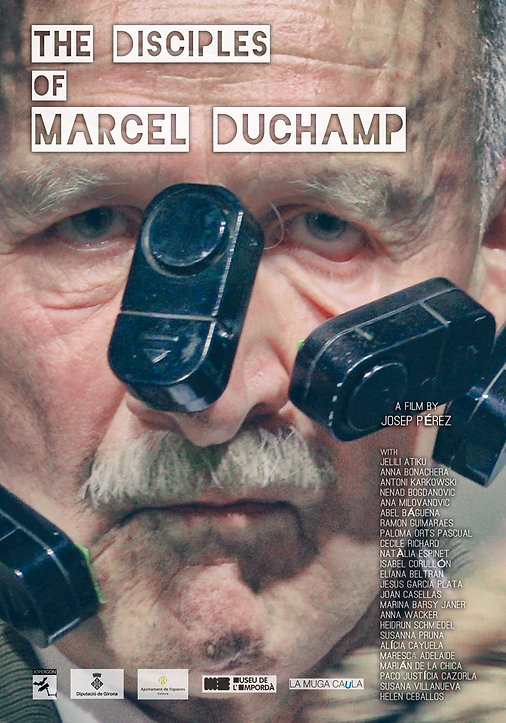 Poster The disciples of Marcel Duchamp.j