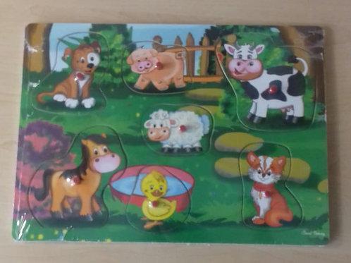 Wooden Farm Puzzle