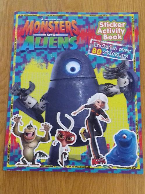 Monsters Vs Aliens   Activity Book