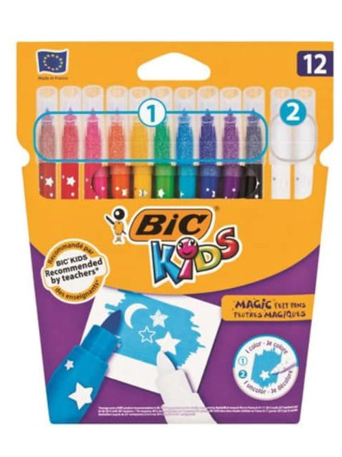 Bic Kids | 12 Magic Felt Tip Markers