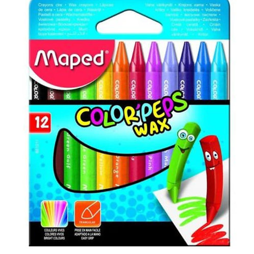 Maped | 12 Wax Crayons