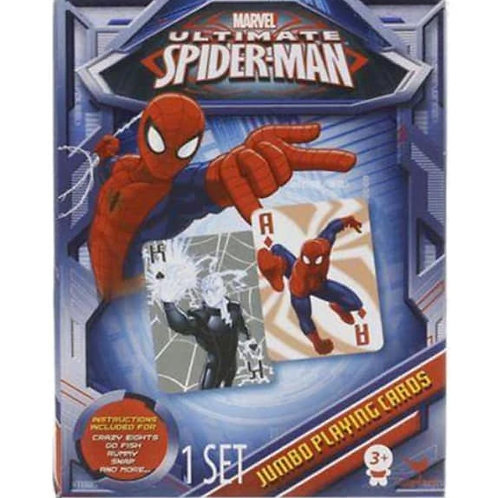 Spiderman Playing Cards