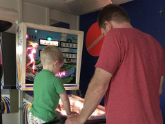 Fun with son!