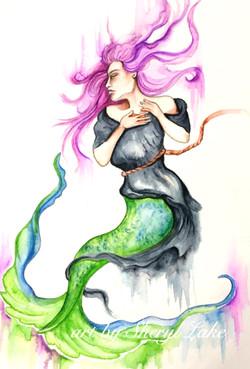 mermaid watermark