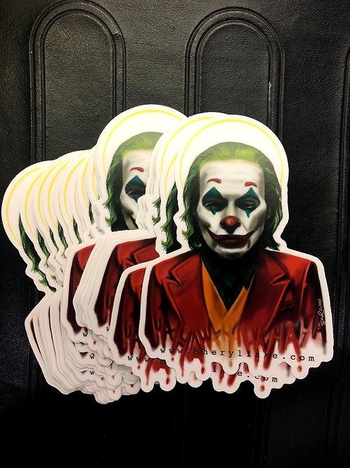 St Joker Sticker