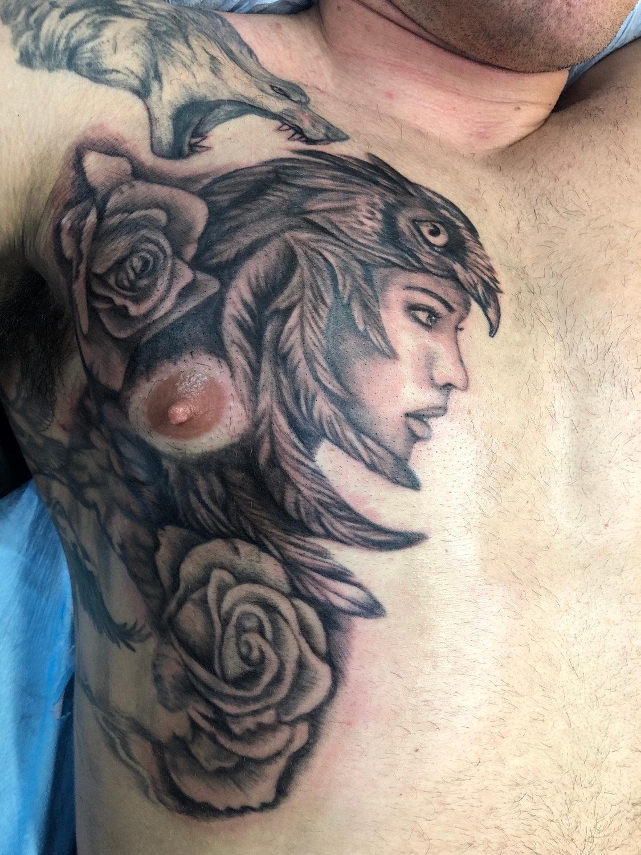 6 hr Tattoo Session