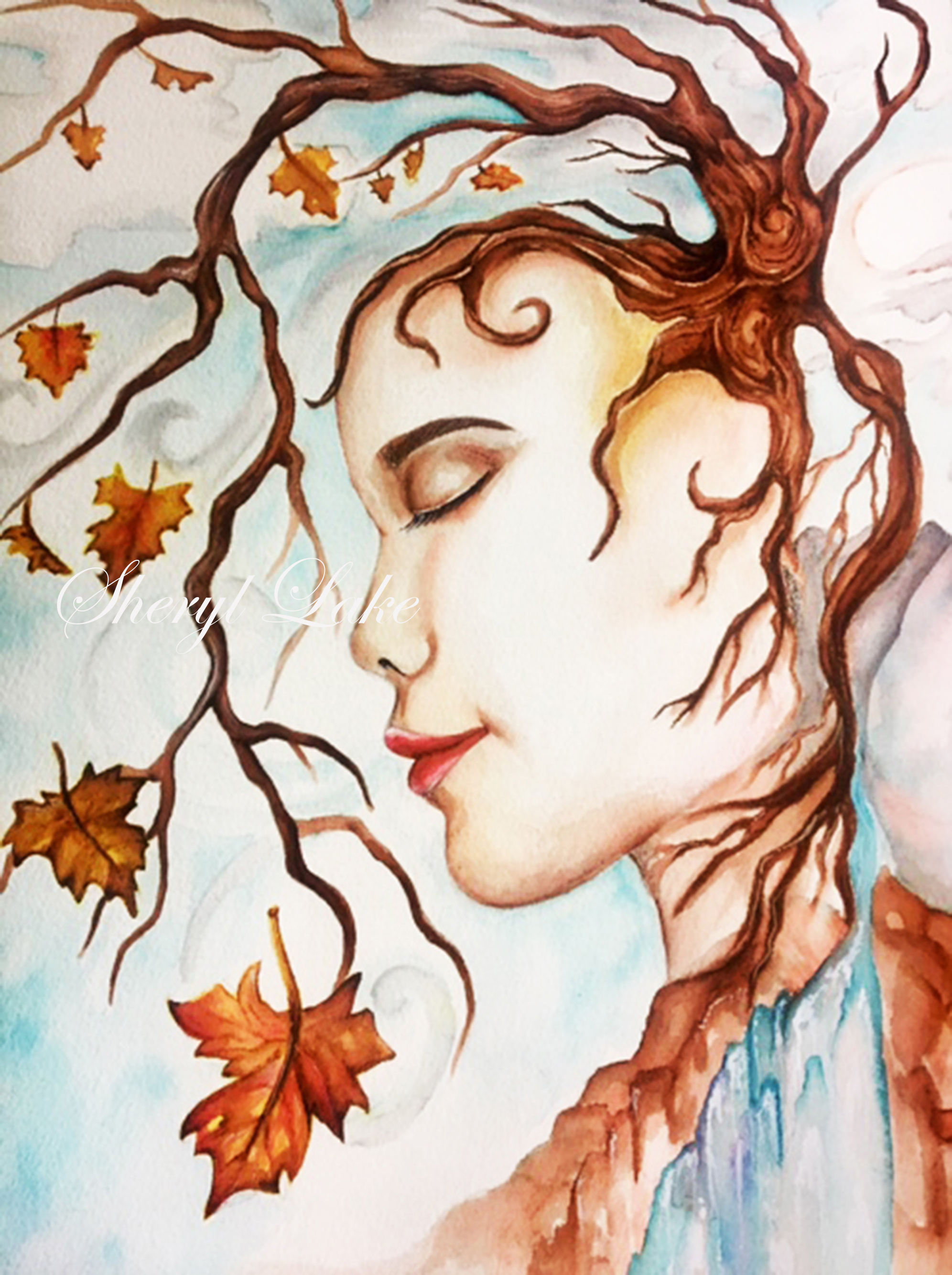Autumn, with watermark